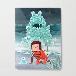 Strange Planet Metal Print