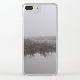 Winter Wetlands Clear iPhone Case