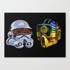 These are not the droids you're looking for Canvas Print