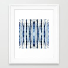 Nori Blue Framed Art Print