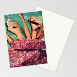 Meat me Stationery Cards