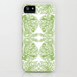 Color of the year doodle iPhone Case