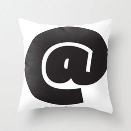 @ symbol Throw Pillow