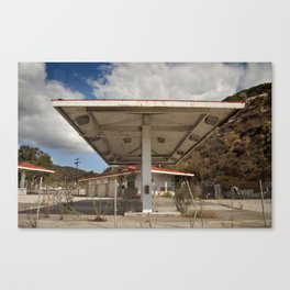 California Gas Station 2 Canvas Print