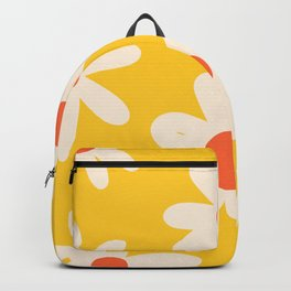 Happy Golden Daisies | Yellow Daisies | Summer Flowers Backpack