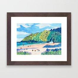 Homunga Bay Framed Art Print