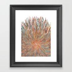 The takeover Framed Art Print