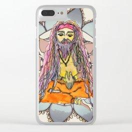 Sadhu by Tarachand Mandala by Motilal Clear iPhone Case