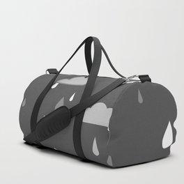 Grey Rains Duffle Bag
