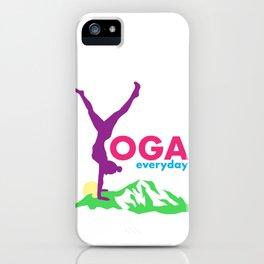 Yoga everyday iPhone Case