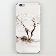 Scots Pine Sepia iPhone & iPod Skin