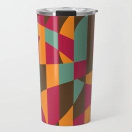 Abstract Graphic Art - Roller Coaster Travel Mug