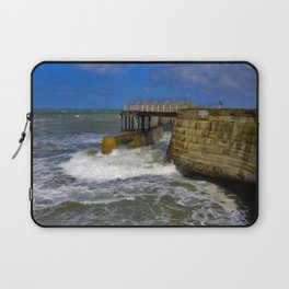 High Tide Whitby Laptop Sleeve