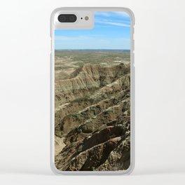 A Rugged Landscape Clear iPhone Case