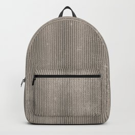 Vintage chic abstract gray geometrical stripes Backpack