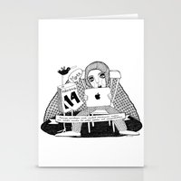 swedish Stationery Cards featuring Swedish Alliteration by Karin Ohlsson