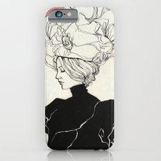 Vintage lady Slim Case iPhone 6s