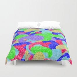 Multicolor Paisleys  Duvet Cover