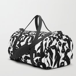 meanwhile penguins Duffle Bag