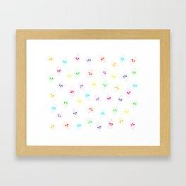 Skullcake multicolor Framed Art Print