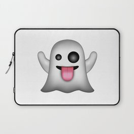 Ghost Emoji Laptop Sleeve