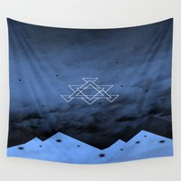 illusion Wall Tapestries featuring Illusion by Mountain View Art