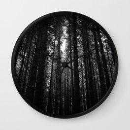 Norwegian woods - Bergen, Hordaland Wall Clock