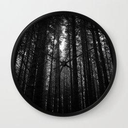 Norwegian woods - Bergen, Hordaland Wall Clock