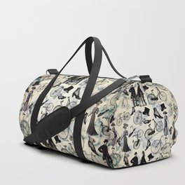 Victorian Bicycles and Fashion Duffle Bag