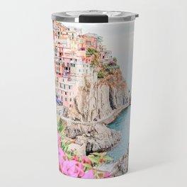 Beautiful Positano, Italy Photography in HD Travel Mug