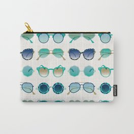 Sunglasses Collection – Turquoise & Navy Palette Carry-All Pouch