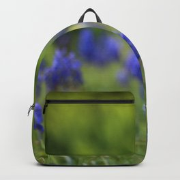 Grape Hyacinth in Spring Backpack