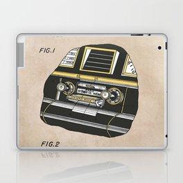 patent Selective stereo tape cartridge player Laptop & iPad Skin