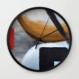 Circle and Square Wall Clock