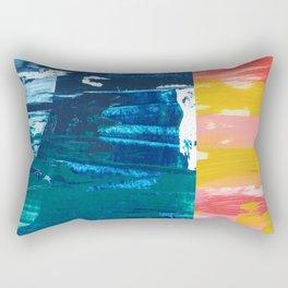 Desert Abstraction Rectangular Pillow