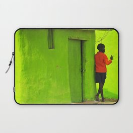 Green House Laptop Sleeve