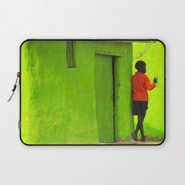 Green House Laptop Sleeve
