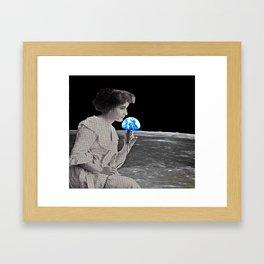 Earthrise Karaoke Framed Art Print