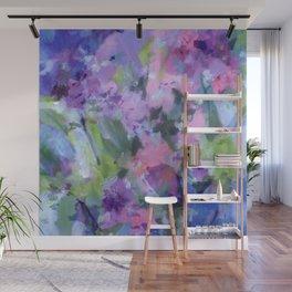 Lavender Blue Wall Mural