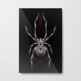 Veuve noire Metal Print
