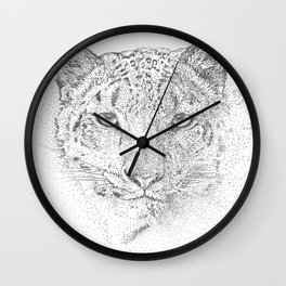 from the blizzard Wall Clock