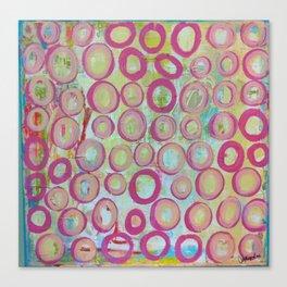 circle.  Canvas Print