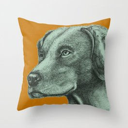 Critter Sketch Throw Pillow