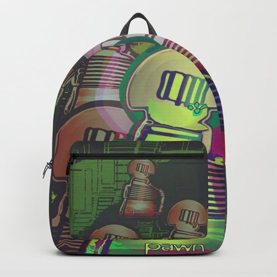 Chess Fantasy I / Eight Pawns in the Game Zone Backpack