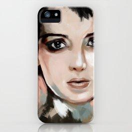 Winona Ryder iPhone Case