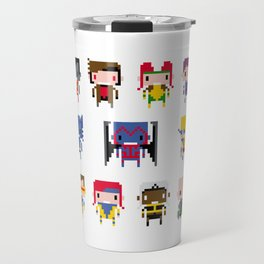 Pixel X-Men Travel Mug