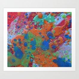 Splat That Art Print