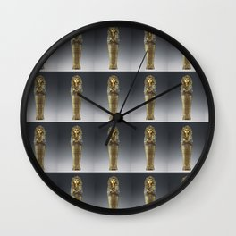tutpattern Wall Clock