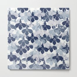 Abstract flower pattern 2 Metal Print