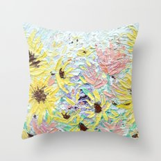 Autumnal Bouquet Throw Pillow